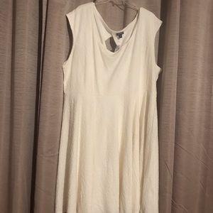 Torrid White Skater Dress